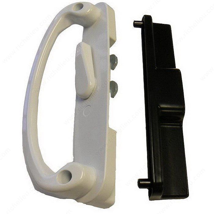 7300 Series Double Hook Patio Door Handle Set Onward Hardware
