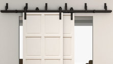 Rustic Barn Door Hardware for Interior Sliding Doors