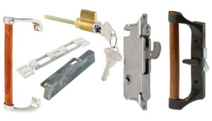 Handles and Locks for Sliding Glass Window-Door