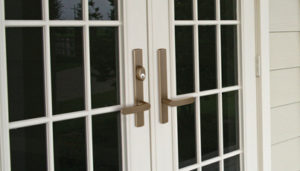 Sentry(TM) Multi-Point Hinged Patio Door System