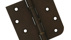 Mortise Combined Hinges with Rounded and Square Corners