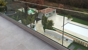 OnLevel Clear View Glass Railings